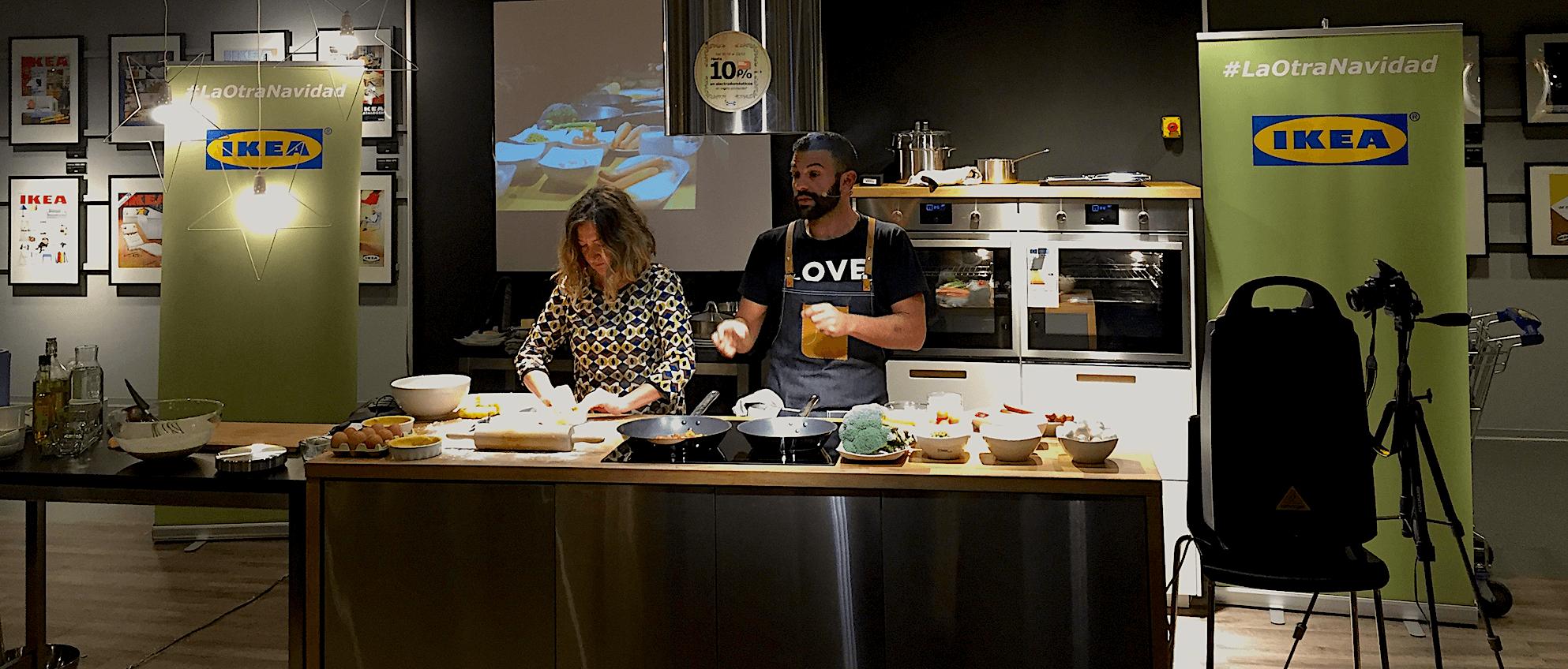 Gonzalo d´Ambrosio - ShowCooking IKEA de Cocineros a Medida